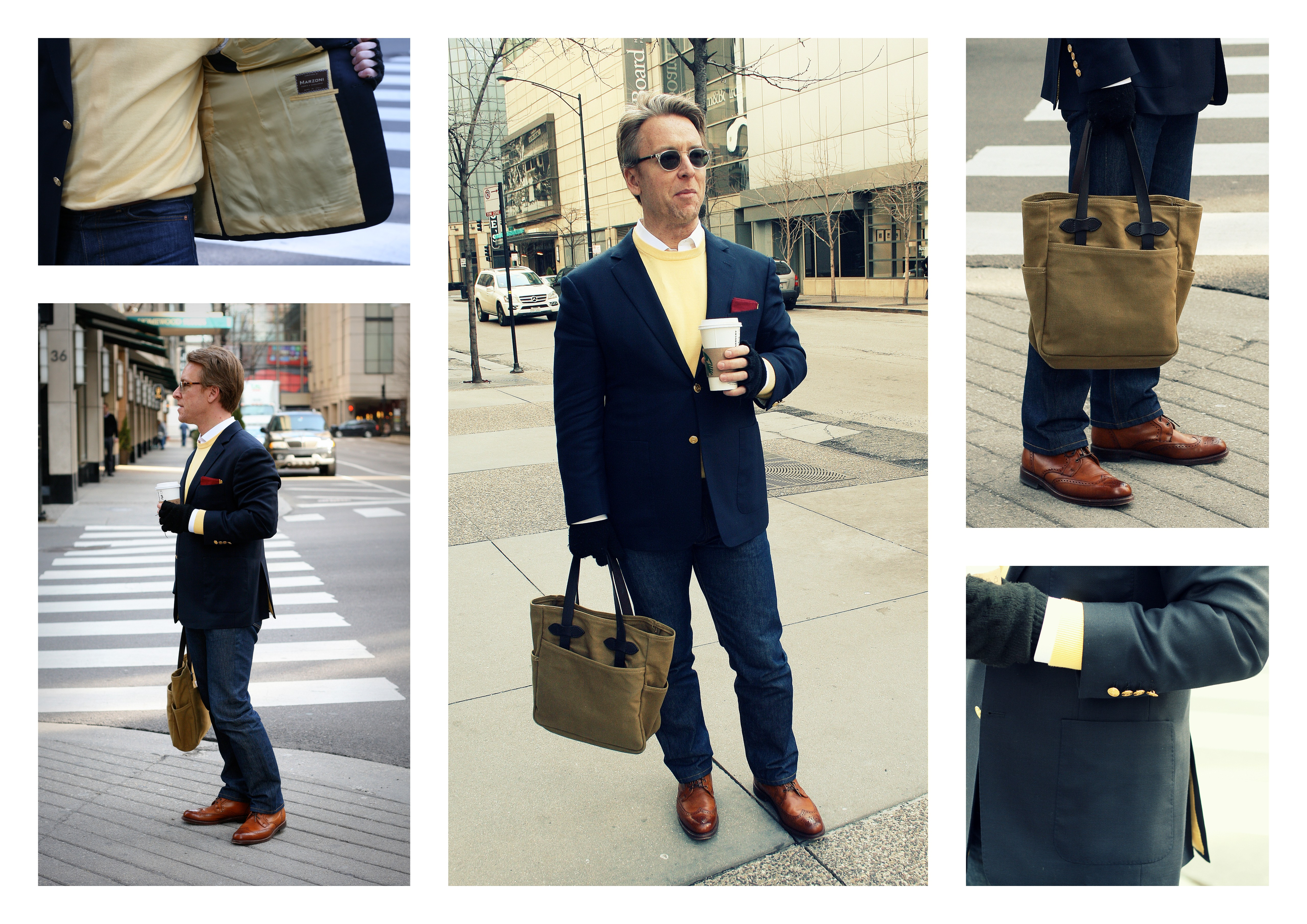 Mr. Andrew Shae in Bespoke Marzoni
