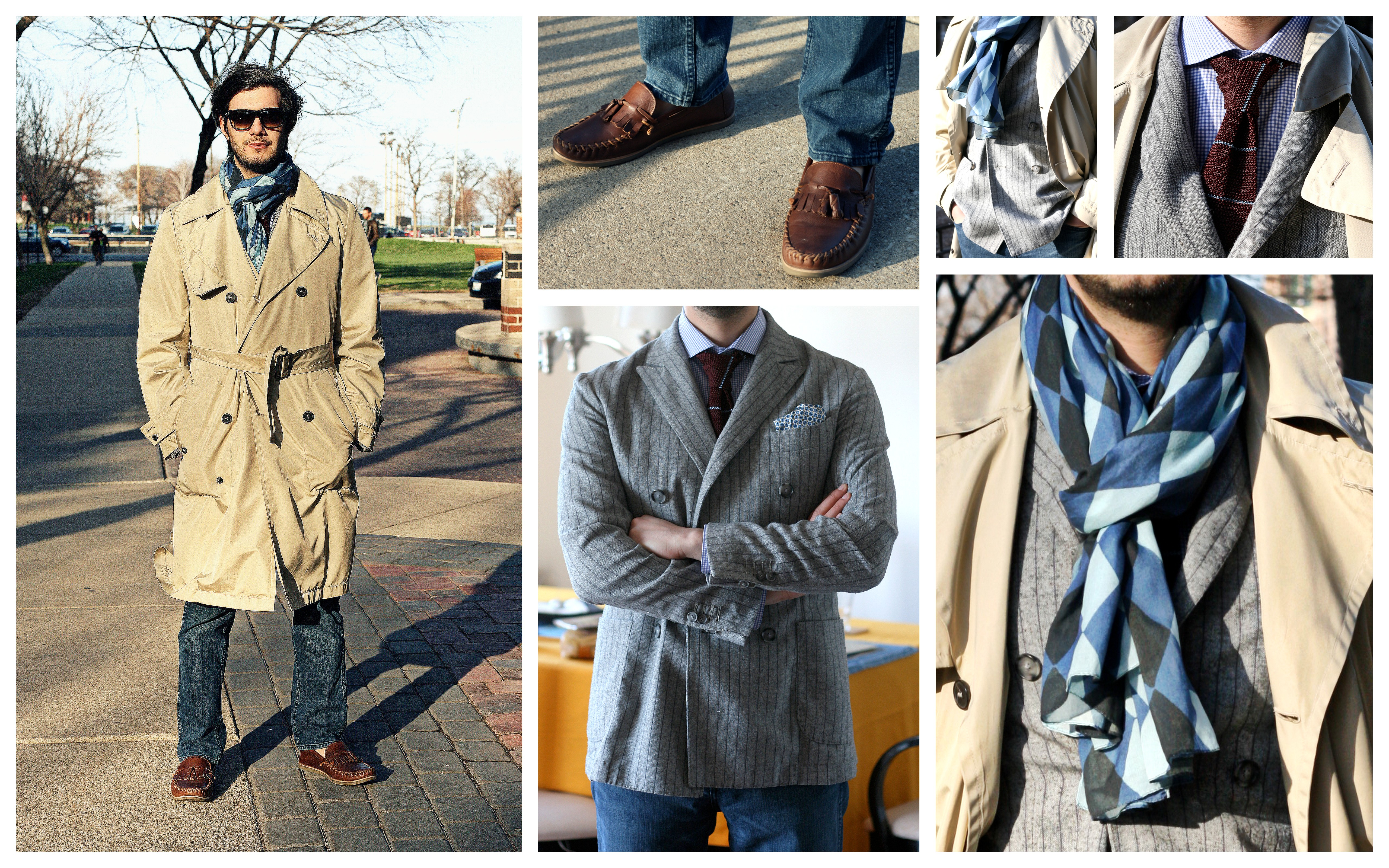 Mr. Antonio Paco Giuliani in YSL, Lanvin, Suit Supply & Top Shop