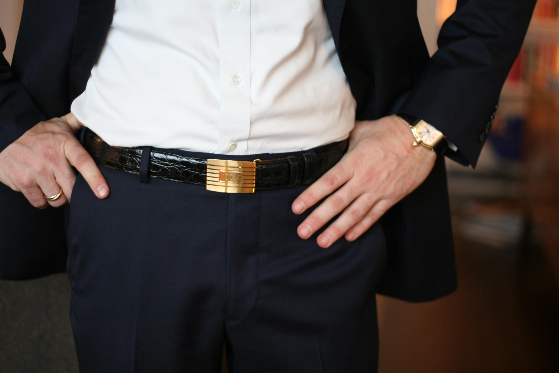 Statement Cartier watch never fails to impress