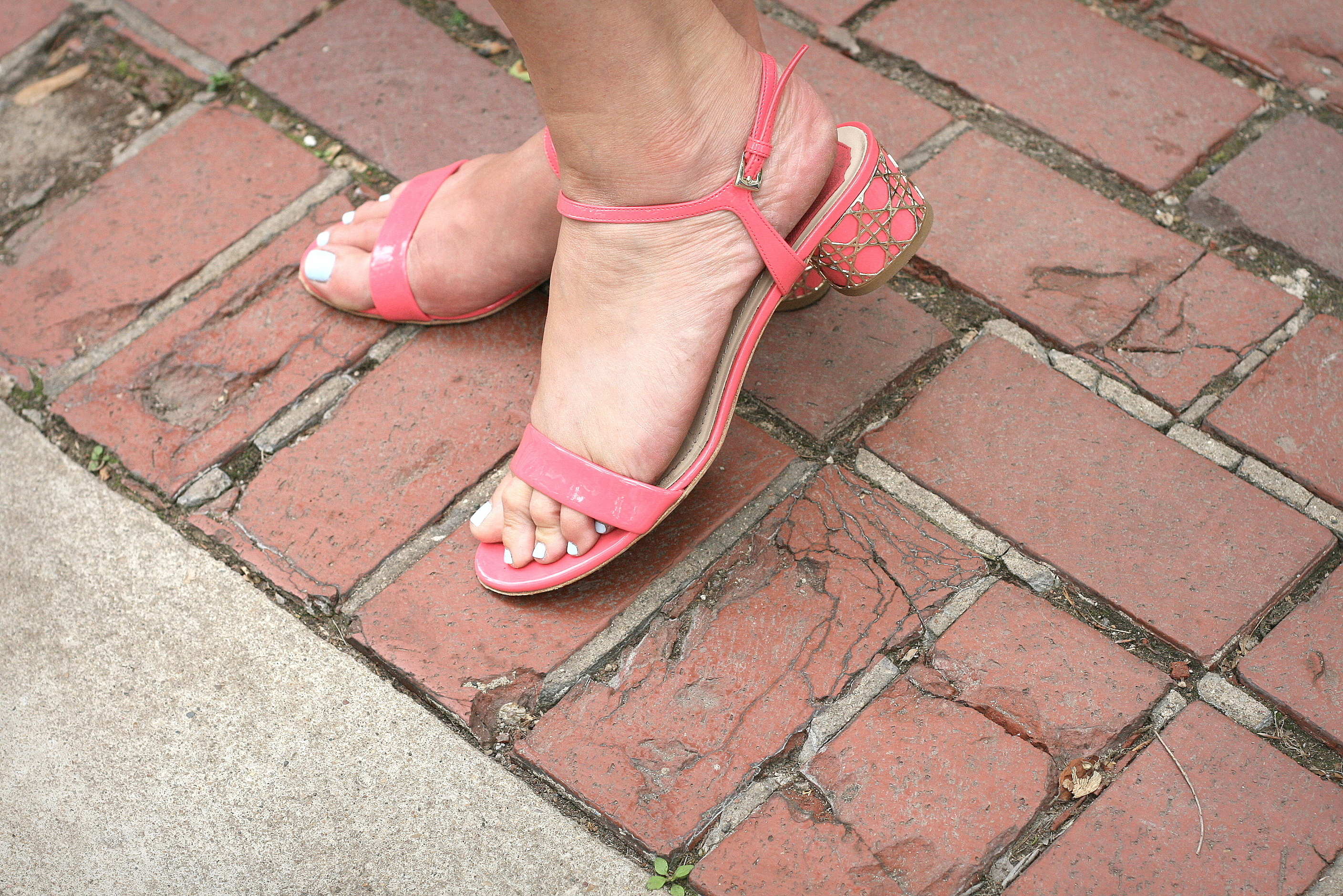 Are these Christian Dior sandals chic or what? Actually- super chic!