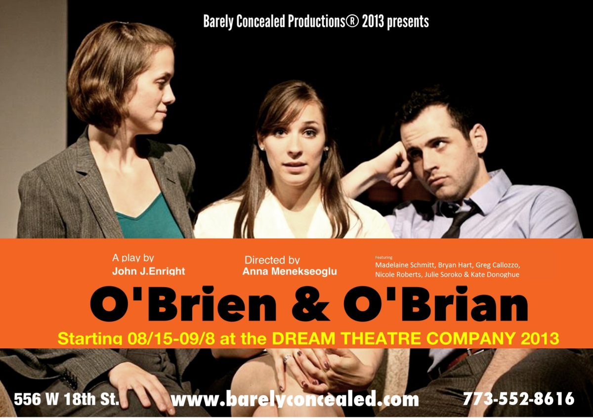 New Play starts tonight at Dream Theatre, Chicago