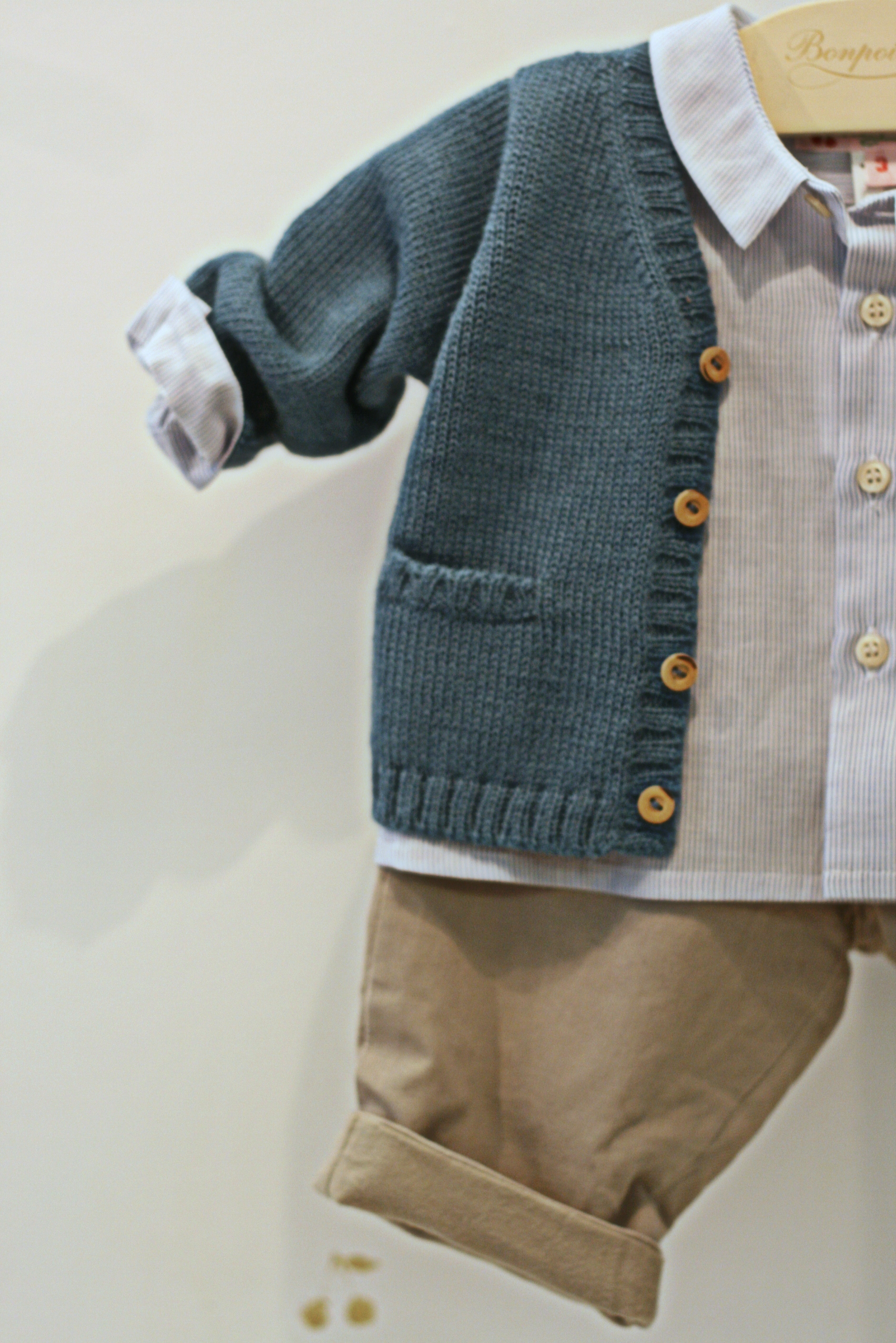 Stylish clothing for babies by Bon Point