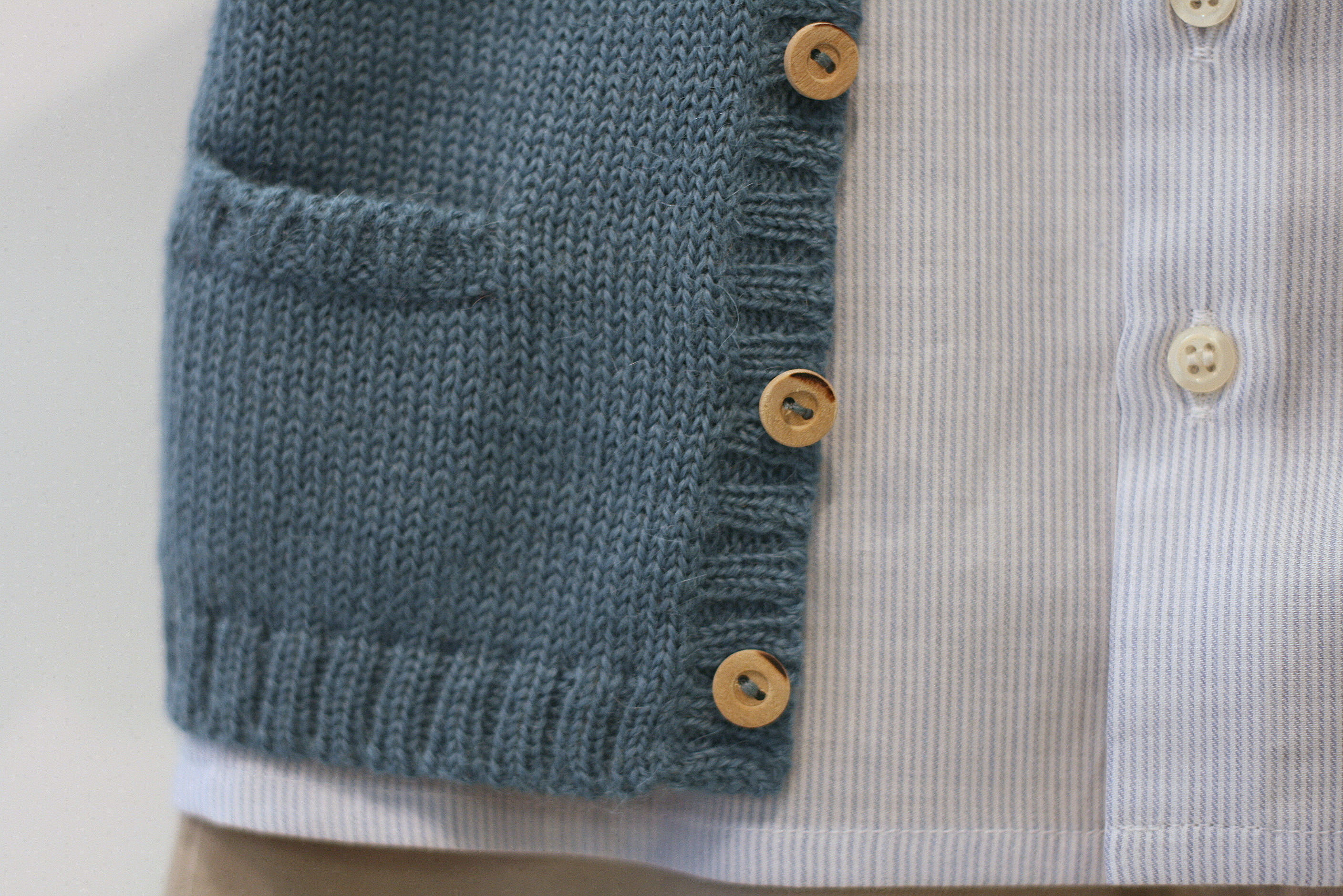 Detail shots of this cute little sweater