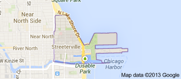 Map of Streeterville